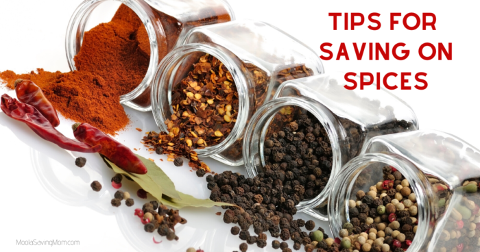 How to Save on Spices