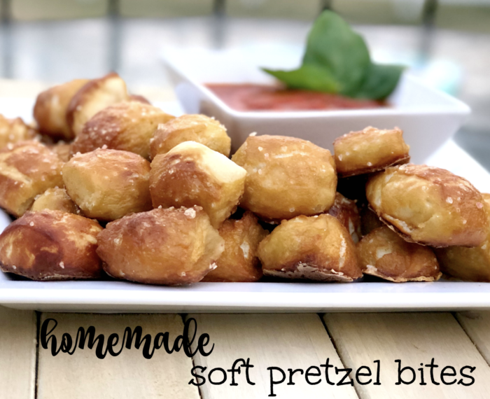 Homemade Soft Pizza Bites (from Pizza Dough)