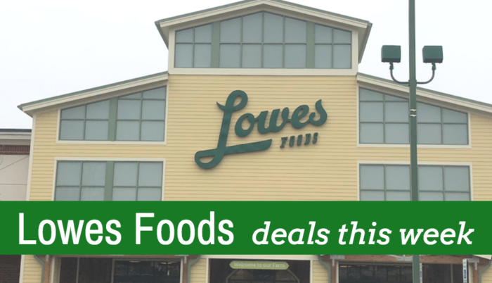 Lowes Foods weekly