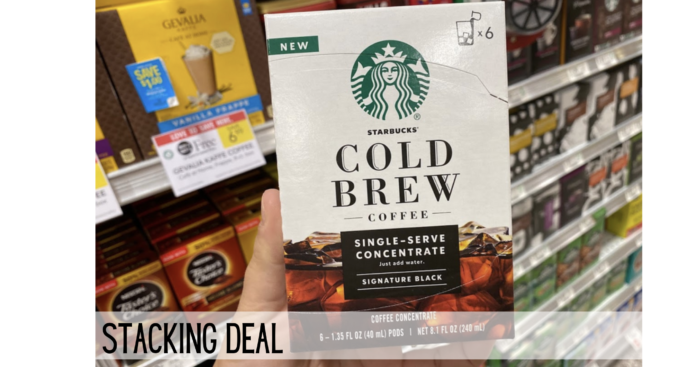 starbucks cold brew stacking deals